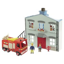 Fireman Sam To The Rescue Playset