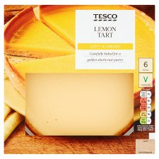 Tesco Lemon Tart 410G