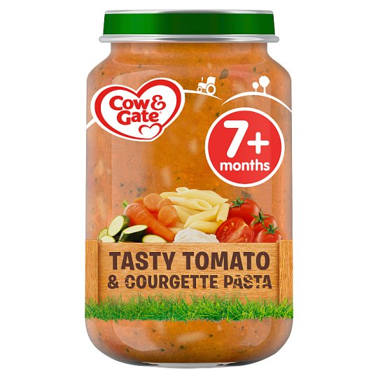 image 1 of Cow & Gate Tomato And Courgette Pasta 7Mth+ 200G Jar
