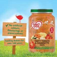image 2 of Cow & Gate Tomato And Courgette Pasta 7Mth+ 200G Jar