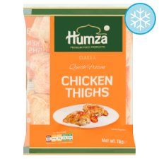 Humza Chicken Oyster Cut Thighs 1Kg