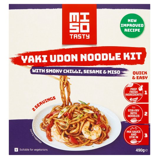 Miso Tasty Spicy Udon Noodle Kit 472G