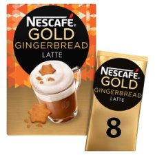 Nescafe Gold Gingerbread Latte 8 X 21G