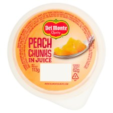 Del Monte Fruit Express Peach Chunks In Juice 113G