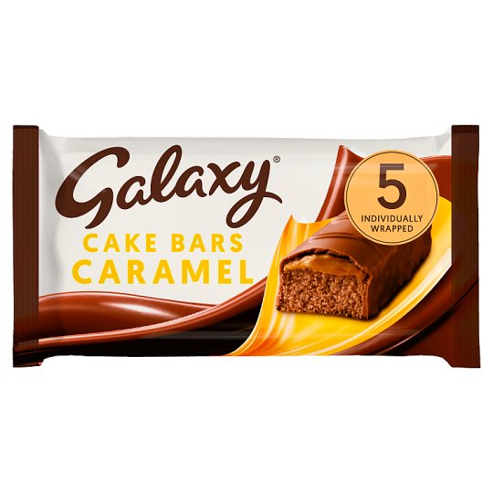 Galaxy Caramel Cake Bars 5 Pack