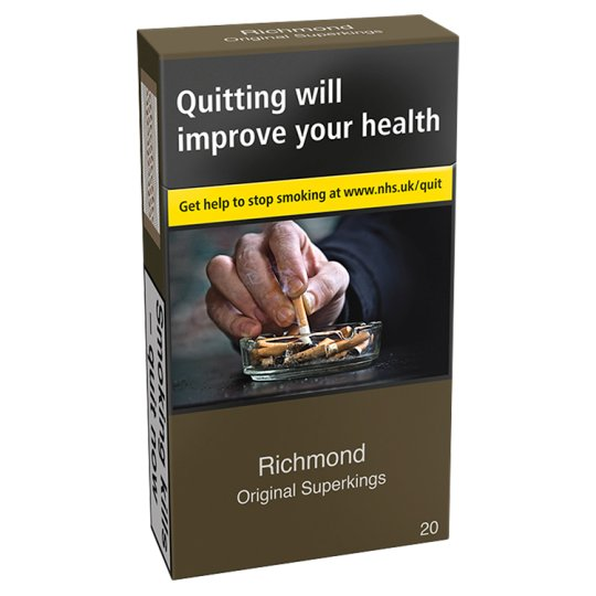 Richmond Superkings Real Blue 20 Pack