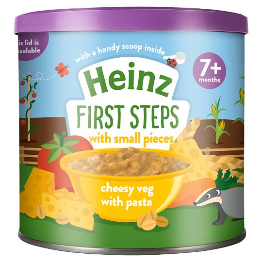 Heinz First Steps Cheesy Vegetable With Pasta 200G