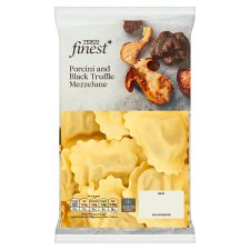 Tesco Finest Porcini And Black Truffle Mezzelune 250G
