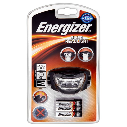 Energizer 3 Led Head Torch