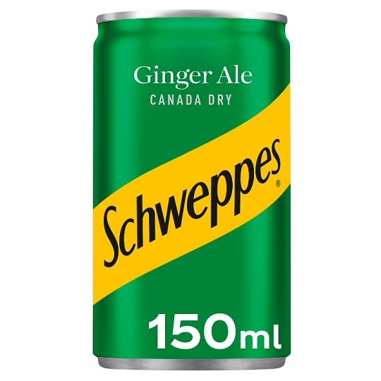 Schweppes Canada Dry Ginger Ale 150Ml