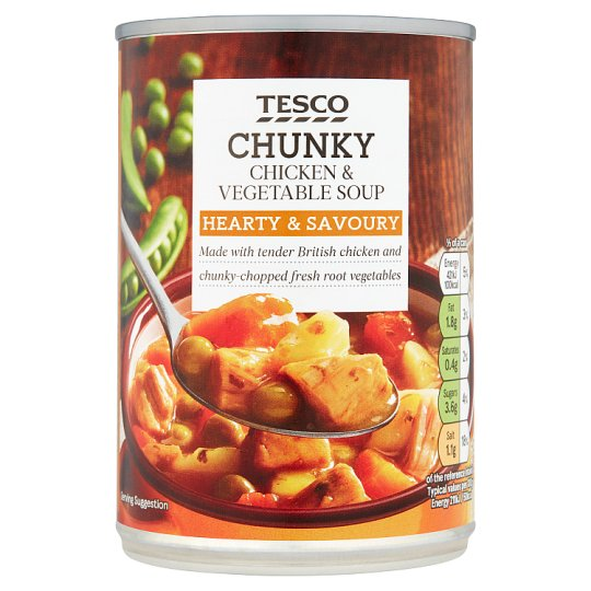 Tesco Chunky Chicken And Vegetable Soup 400G