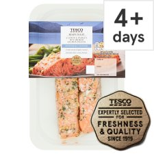 Tesco Cooked Lemon And Parsley Salmon Fillets 180G