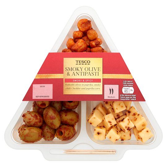 Tesco Smoky Olive And Antipasti 150G