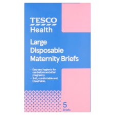 Tesco Large Maternity Brief 5 Pack