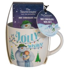 Snowman Hot Chocolate Mug