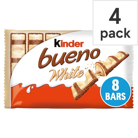 image 1 of Kinder Bueno White Chocolate Multipack 4 X39g
