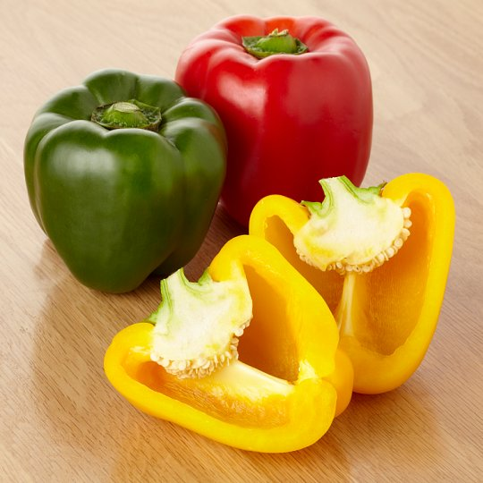 Tesco Mixed Peppers 3 Pack