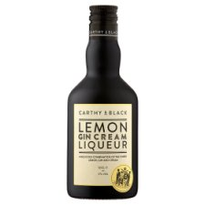 Carthy And Black Lemon Gin Cream Liqueur 50Cl