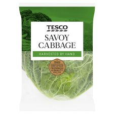 Tesco Savoy Cabbage Each