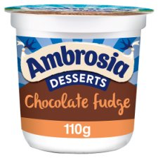 Ambrosia Desserts Chocolate Fudge 110G