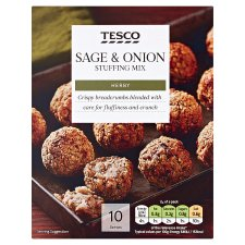 Tesco Sage And Onion Stuffing Mix 170G