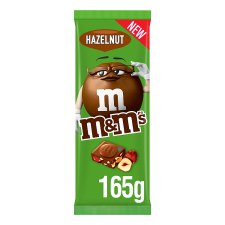 M&M's Hazelnut Milk Chocolate Block 165G
