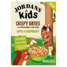 Jordans Kids Grinola Apple And Raspberry 400G