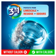 image 2 of Calgon 3 In 1 Limescale Protection Tablets 45 Washes