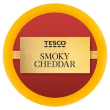 Tesco Smoky Cheddar Truckle Cheese 100G