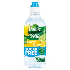 Volvic Touch Of Fruit Lemon And Lime Sugar Free 75Cl