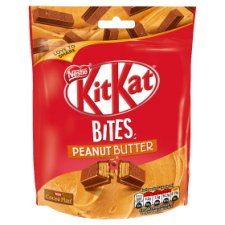 Kit Kat Bites Peanut Butter Pouch Bag 104G