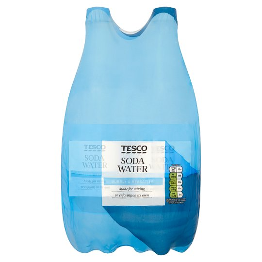 Tesco Soda Water 4 X 1Litre