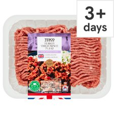 Tesco Turkey Thigh Mince 7% Fat 500G