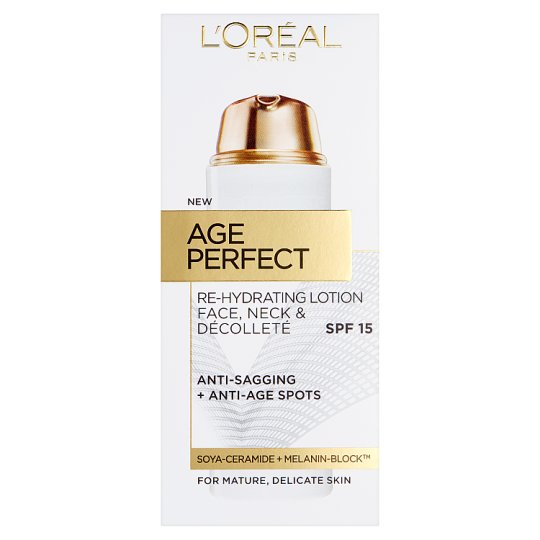 image 1 of L'oreal Paris Age Perfect Lotion Face, Neck And Decollete 50 Ml