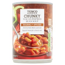 Tesco Tuscan Bean Soup 400G