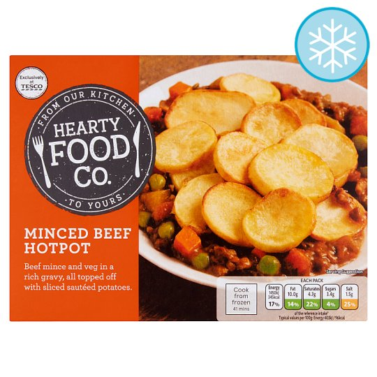 Hearty Food Co Minced Beef Hotpot 400G