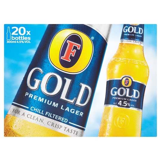 Fosters Gold 20X300ml
