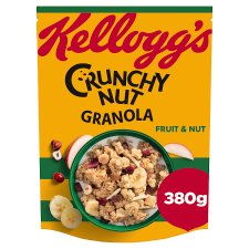 Kelloggs Crunchy Nut Fruit And Nut Oat Granola 380G