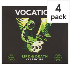 Vocation Brewery Life&Death Ipa 4X330ml Can