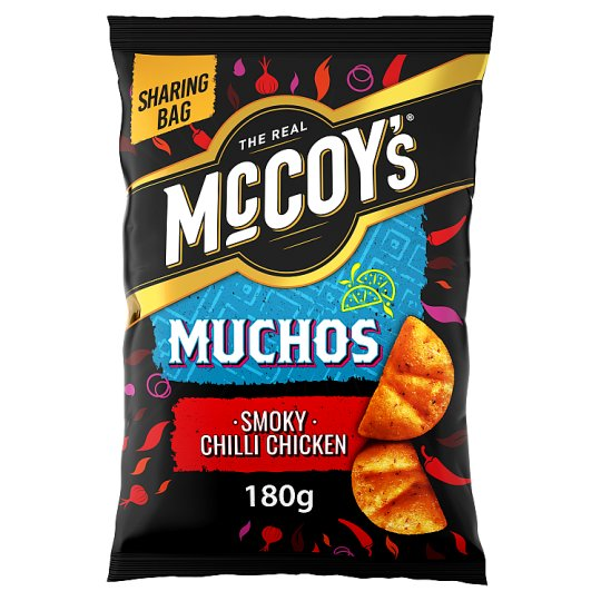image 1 of Mccoy's Muchos Smokey Chilli Chicken 180G