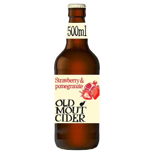 image 1 of Old Mout Pomegranate And Strawberry Cider 500Ml Bottle