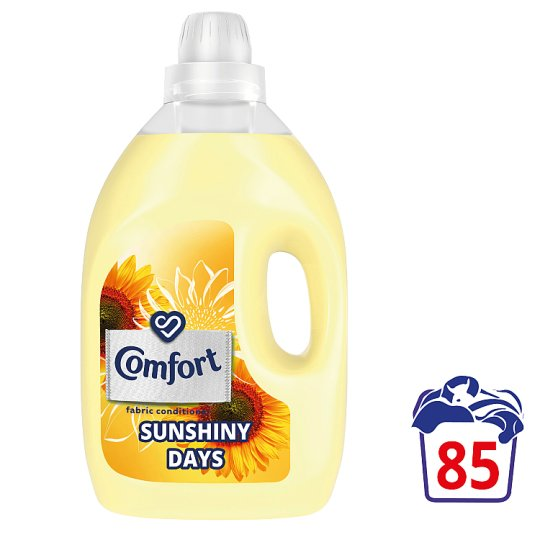 Comfort Sunshiny Days Fabric Conditioner 85 Wash 3L