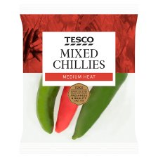 image 1 of Tesco Mixed Chillies 65G