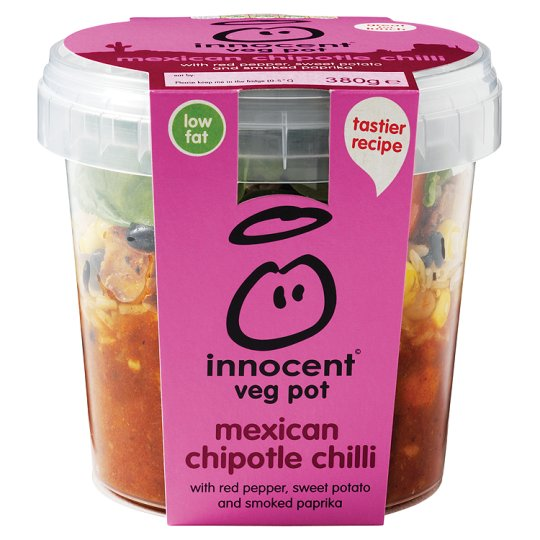 Innocent Mexican Chipotle Chilli Vegetable Pot 380G