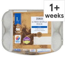 Tesco Large Free Range Eggs 6 Pack