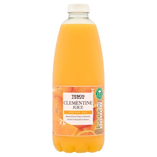 Tesco 100% Pure Squeezed Clementine Juice 1 Litre