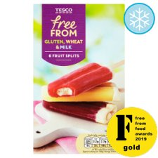 Tesco Free From Assorted Splits 6 X 75Ml 450Ml