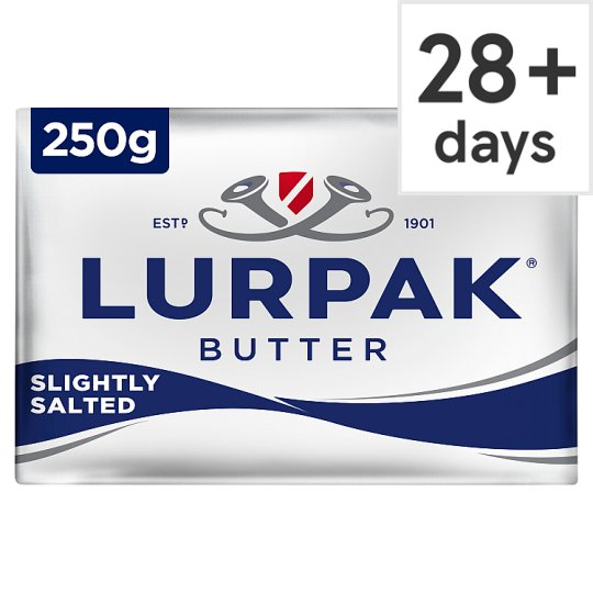 Lurpak Slightly Salted Block Butter 250G