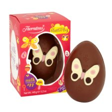 Thorntons Miss Flutterby Milk Chocolate Easter Egg 149G
