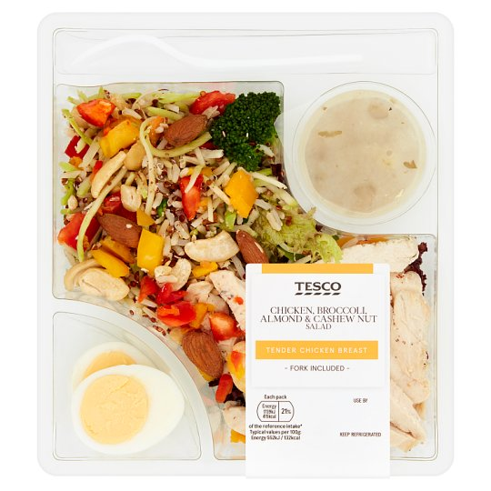 Tesco Roast Chicken And Broccoli Salad 315G
